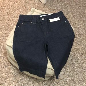 Dark denim shorts 🎍 NWT